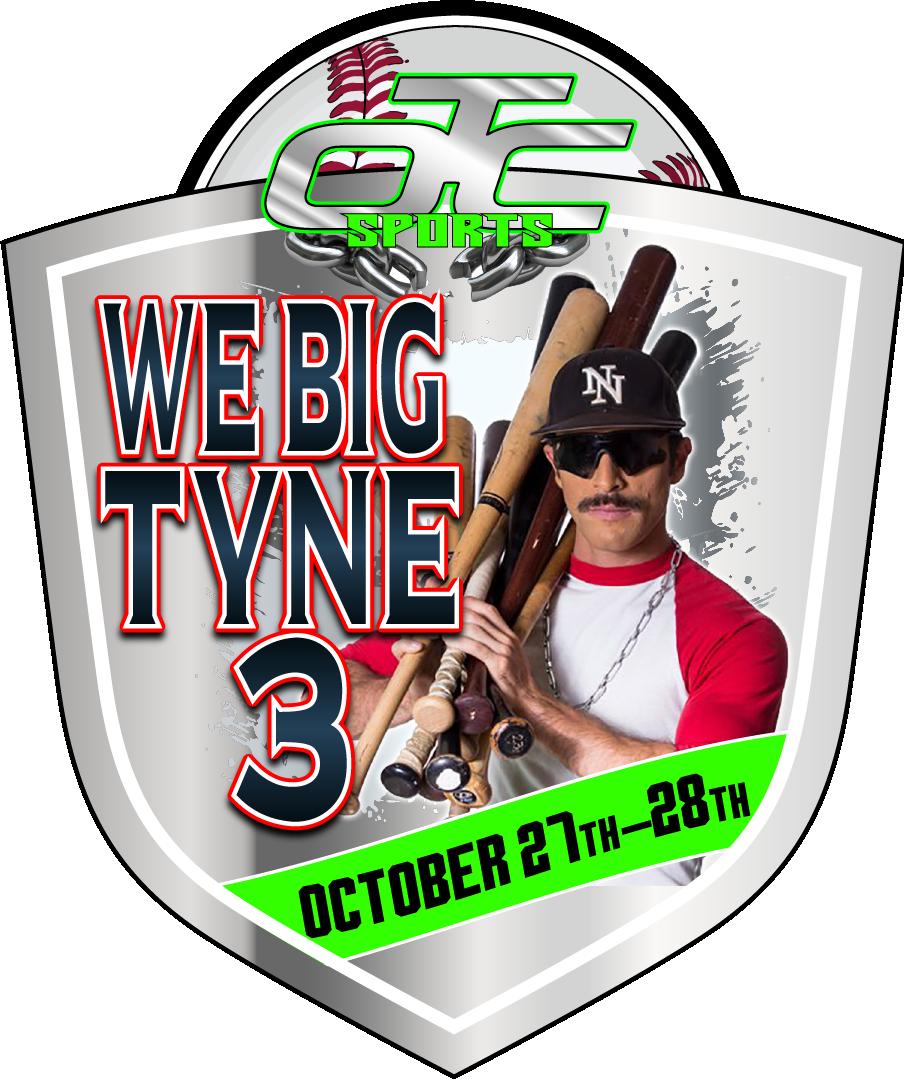 We Big Tyne III - Domingo Ayala Logo