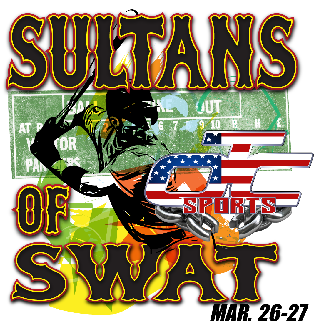 The Sultans Of Swat! Logo