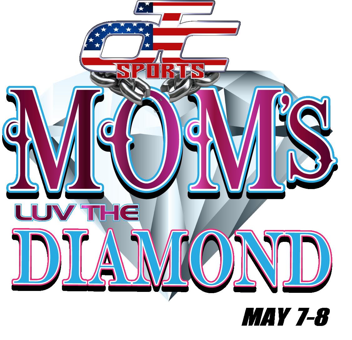 Moms Luv The Diamond! Logo