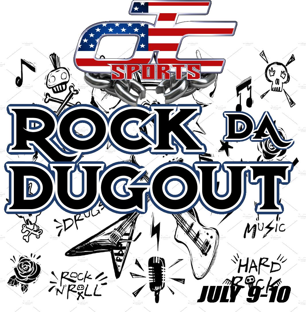 Rock Da Dugout! Logo